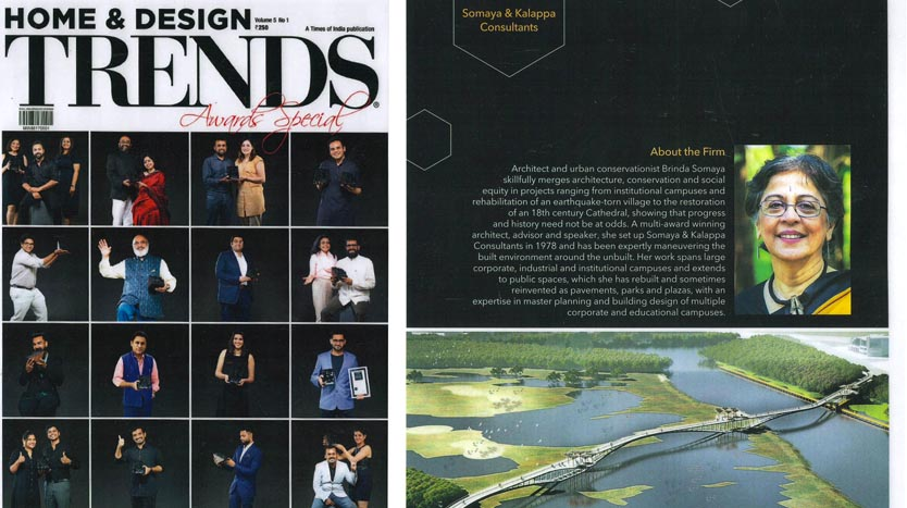 Mumbai Esplanade Project; Home & Design TRENDS Awards Special - May 2017. Vol 5 No 1.