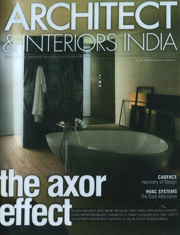 Architect and Interiors India - April 2010