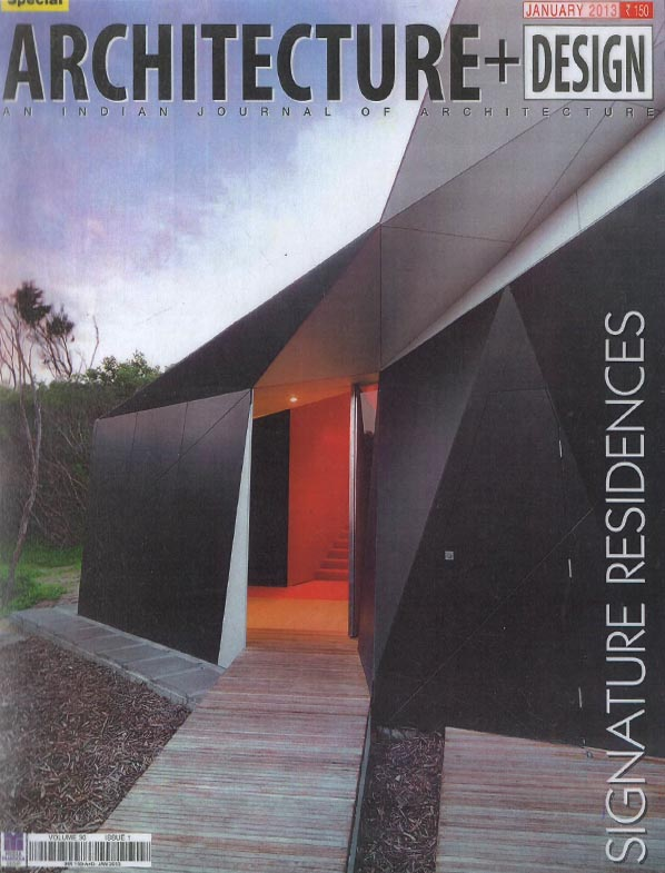 Architecture + Design -January 2013. Vol 30 Issue 1.