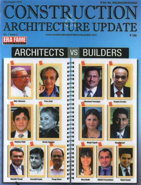 Construction & Architecture Update - July - August 2015.Vol. 7 Issue 2.