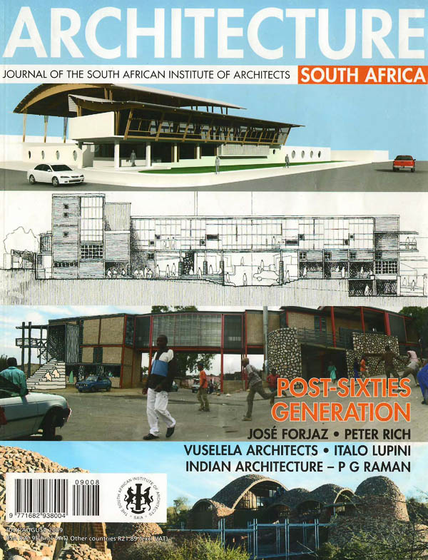 Journal of the South African Institute of Architects - July 2009