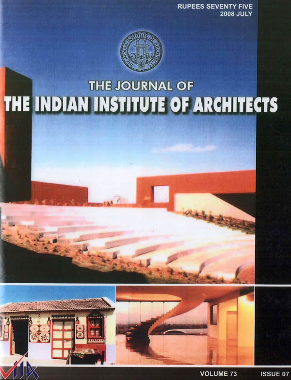 The Journal of the Indian Institute of Architects - July 2008