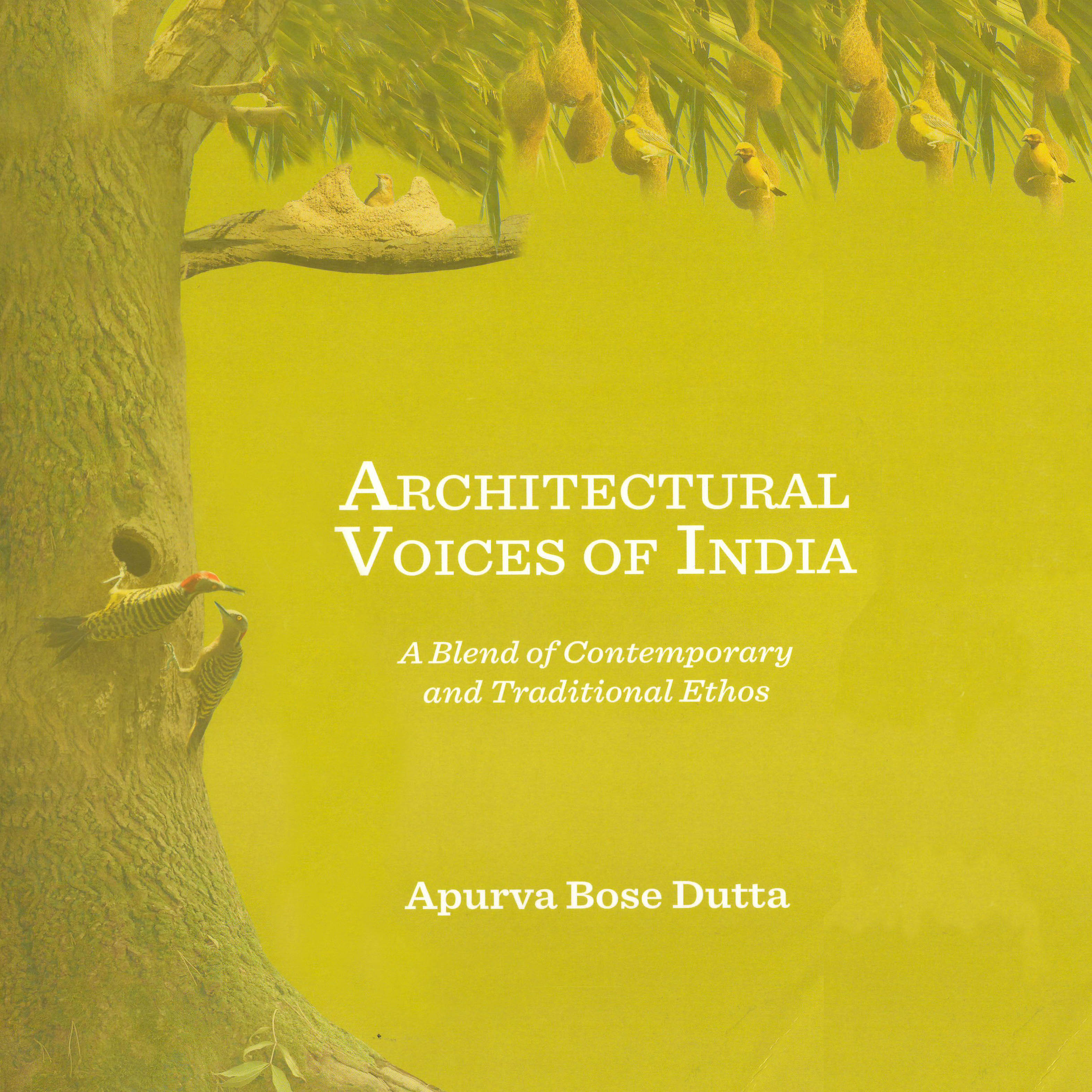 Architectural Voices of India by Apurva Bose Dutta