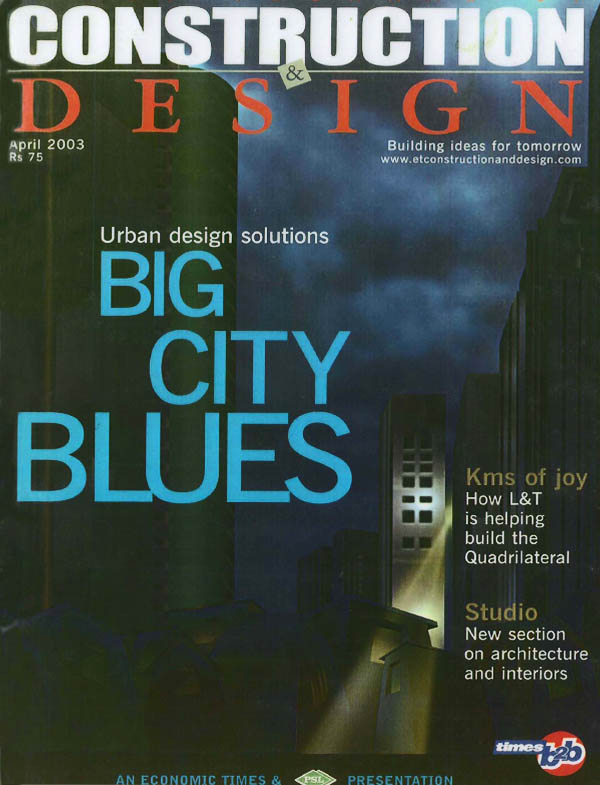 Times Journal of Construction and Design - April 2003