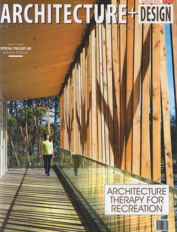 Architecture + Design journal publishes an article on The contemporary evolvement for recreational design by Nandini Sampat