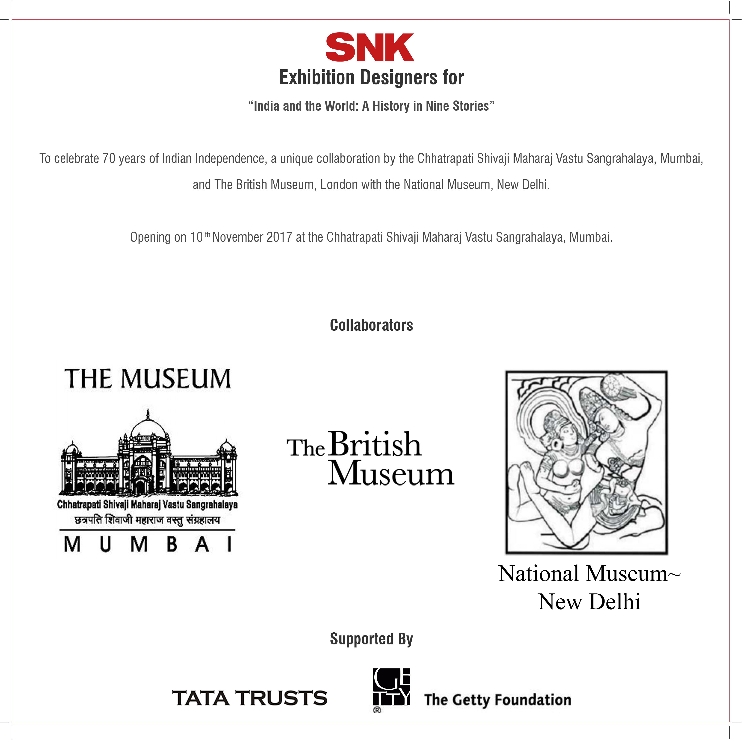 Somaya and Kalappa Consultants, Exhibition Designers for India and the World, A History in Nine Stories