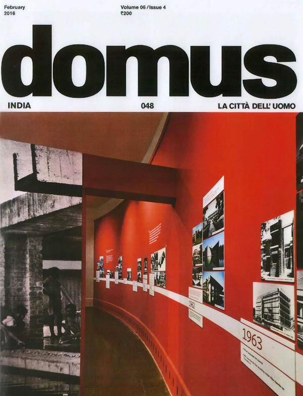 Domus - February 2016. Vol 06 Issue 4.