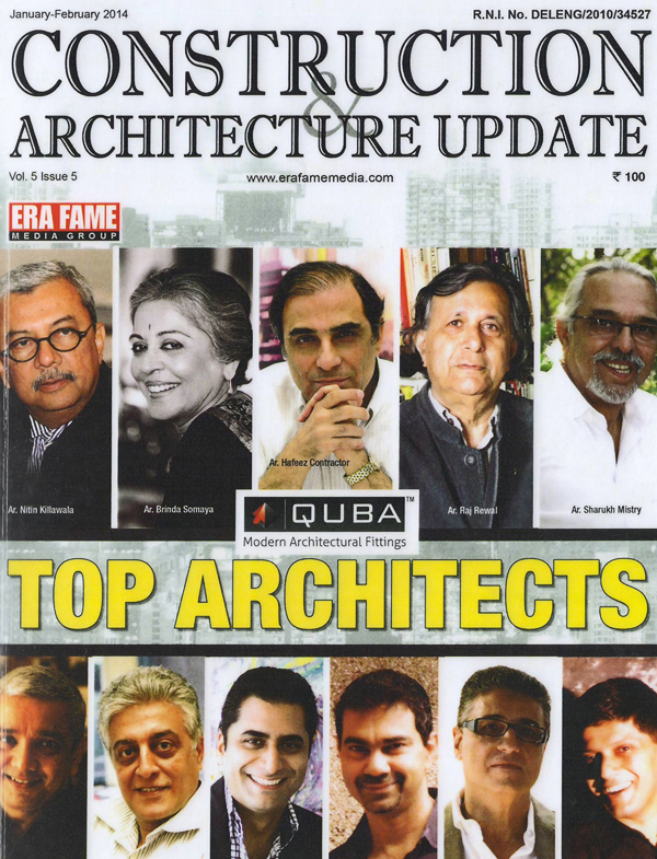 Construction & Architecture Update -January - February 2014. Vol 5 Issue 5.