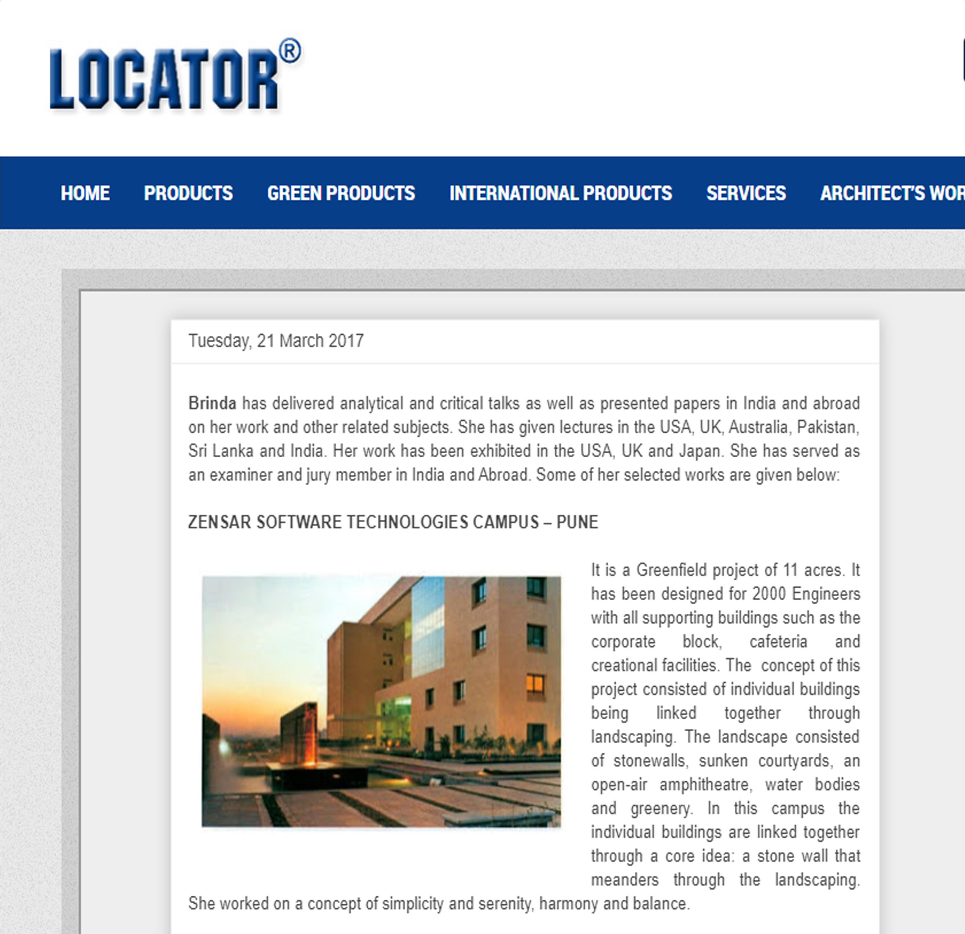 Locator India - on 21 March 2017