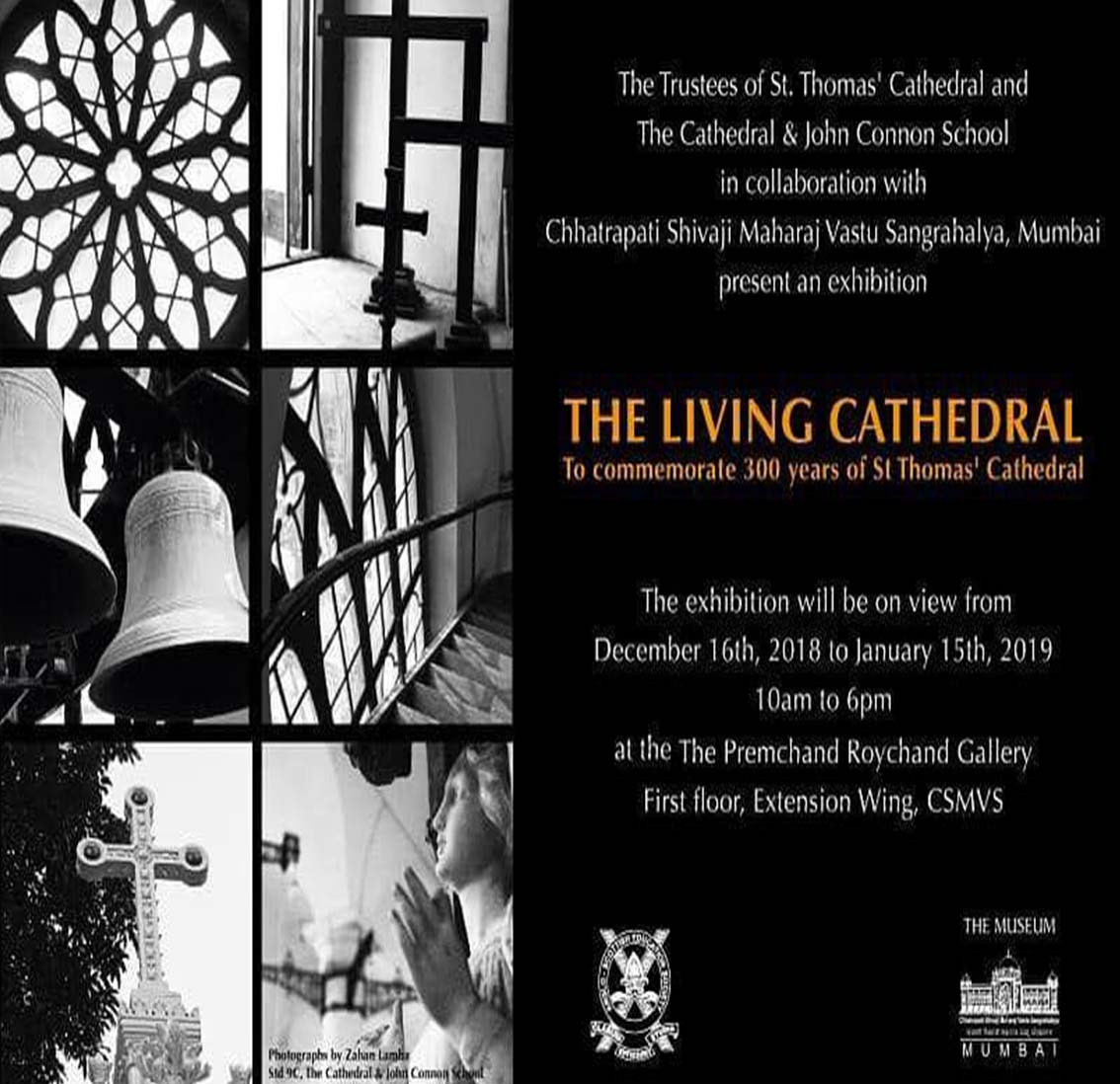 The Living Cathedral to commemorale 300 years of St Thomas' Cathedral -�december� 2018�- January 2019